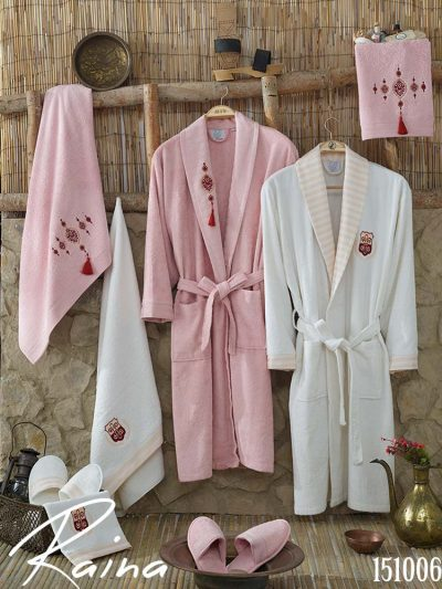 bathrobe towel