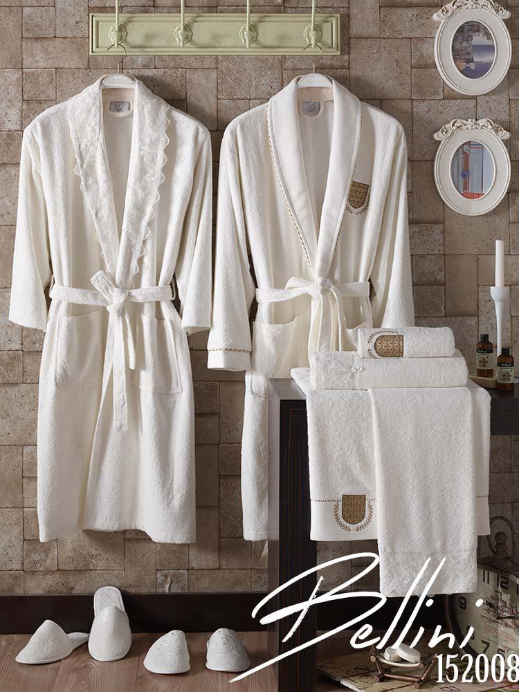 Wedding Family Bathrobe Set Zorel Textile