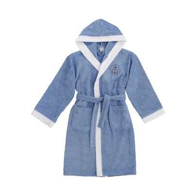 young bathrobe